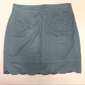 NWOT Tobi Mini Skirt